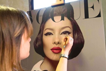Beauty Talents celebrate Vogue's 50th Anniversary