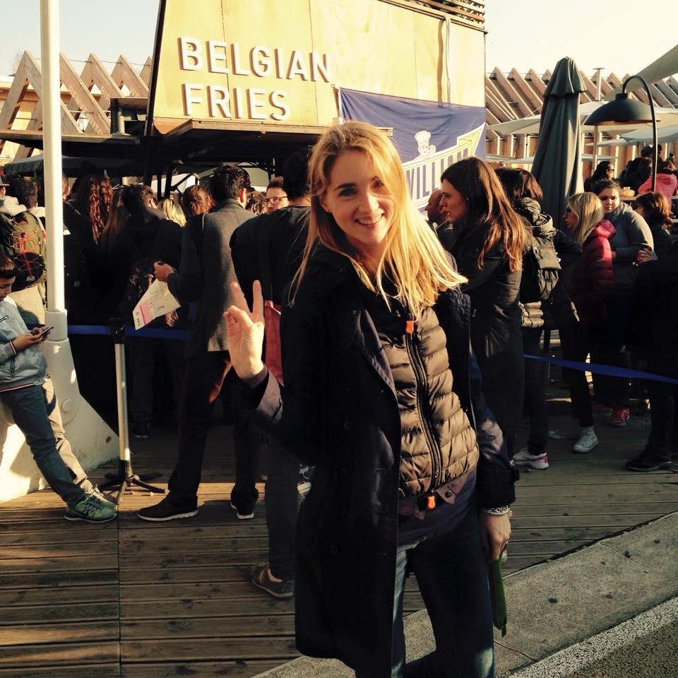 La nostra Paola, orgogliosa del suo heritage belga !