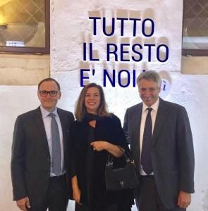 Emilio Mussini Armando Caffiero e Gabriella Castelli