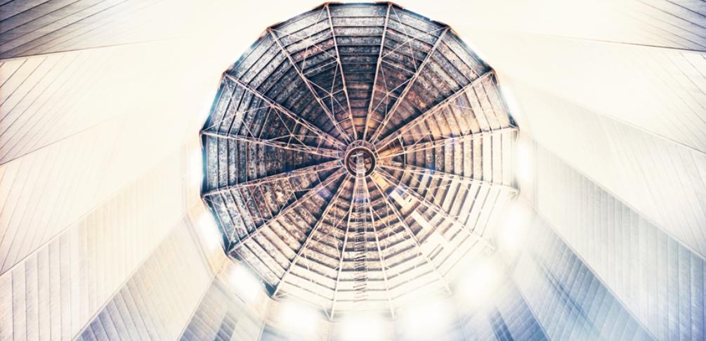 Una delle immagini di Carlo Valsecchi - Gasometro - Gruppo Hera per Arte Fiera 2019